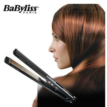 【展示機】Babyliss 24mm鈦金陶瓷專業直髮夾