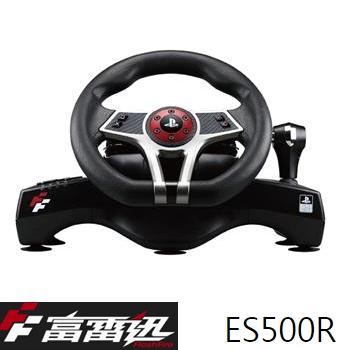 「期間限定」FlashFire ES500R 颶風之翼 專業賽車方向盤(ES500R)