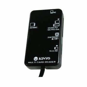 KINYO KCR-369多合一晶片讀卡機(KCR-369)