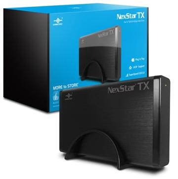 凡達克3.5吋USB3.0 SATAⅢ硬碟外接盒(NST-328S3-BK)