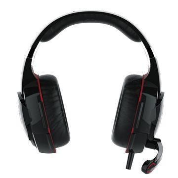 廣寰 K4000玩家電競耳麥-黑紅(K4000BR)