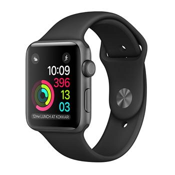 【42mm】Apple Watch Series 2/太空灰鋁金屬/黑色運動