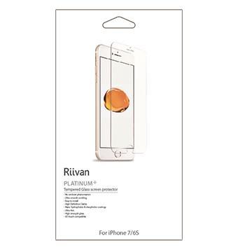 【iPhone 7/6S】Riivan 鋼化玻璃抗油污保護貼(RTGIPH7)