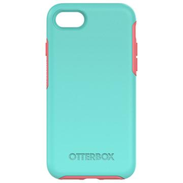 【iPhone 7】OtterBox Symmetry 防摔殼-粉藍(77-54021)