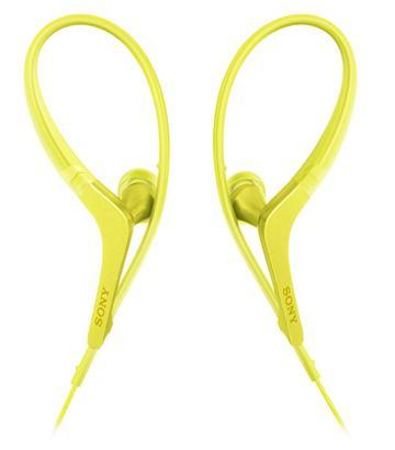SONY MDR-AS410AP有線運動款耳機-黃(MDR-AS410APYQE)