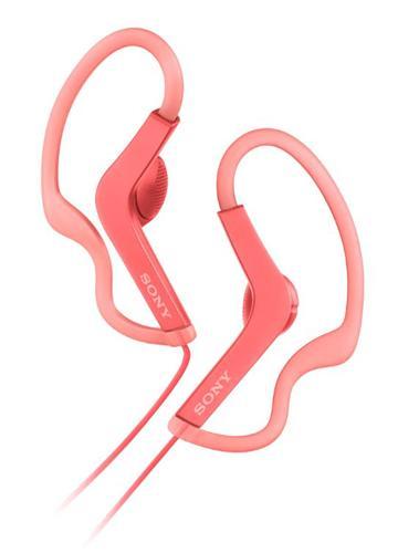 SONY MDR-AS210AP有線運動款耳機-粉(MDR-AS210APPQE)