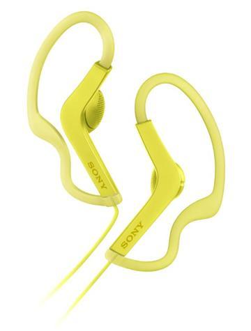 SONY MDR-AS210AP有線運動款耳機-黃(MDR-AS210APYQE)