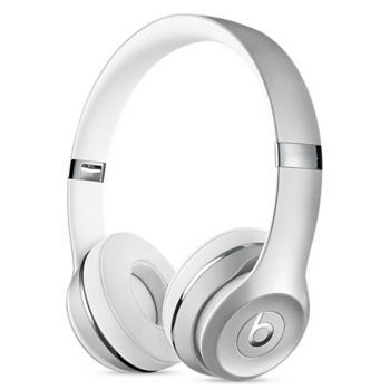 Beats Solo3 Wireless 头戴式耳机-银(MNEQ2ZP/A)