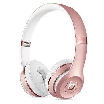 Beats Solo3 Wireless 头戴式耳机-玫瑰金(MNET2ZP/A)