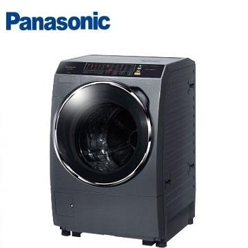Panasonic 14公斤ECONAVI洗脫烘滾筒洗衣機(NA-V158DDH-G(晶燦銀))