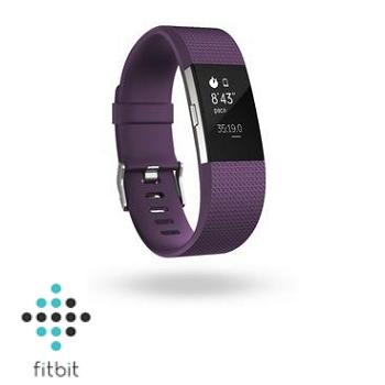 【L】Fitbit Charge 2 心率監測手環-紫紅色
