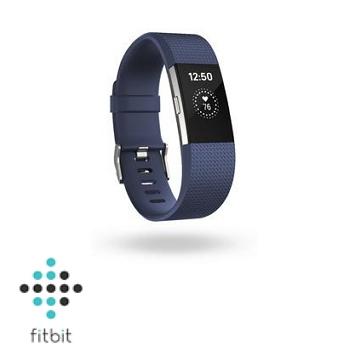 【L】Fitbit Charge 2 心率監測手環-皇家藍