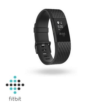 【L】Fitbit Charge 2 心率監測手環-消光黑
