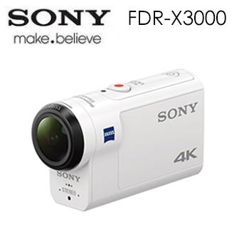 SONY Action cam FDR-X3000 運動攝影機(FDR-X3000)