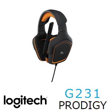 羅技G231 Prodigy遊戲耳機麥克風(981-000630)
