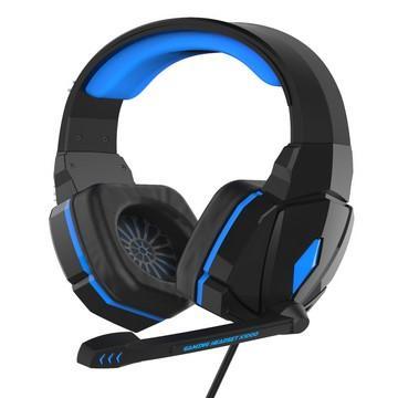 廣寰 K1000玩家電競耳麥-黑藍(K1000BB)