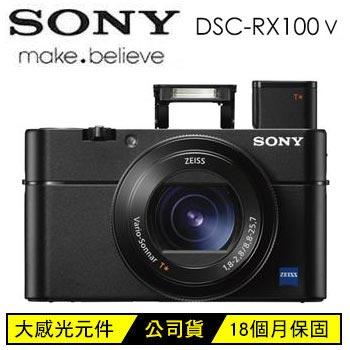 SONY RX100M5類單眼相機-黑(DSC-RX100M5)
