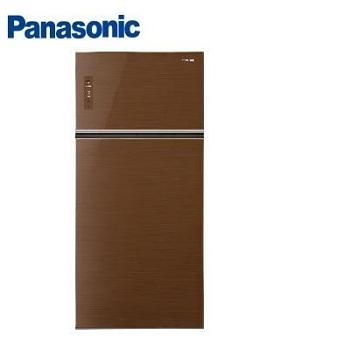 Panasonic 579公升玻璃雙門變頻冰箱(NR-B588TG-T(翡翠棕))