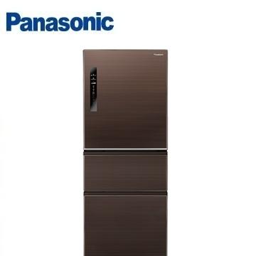 Panasonic 500公升ECONAVI三門變頻冰箱(NR-C508NHV-T(咖啡棕))