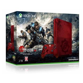 【2TB】Xbox One S 戰爭機器4限量同捆組()