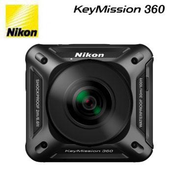 Nikon KeyMission 360 運動攝影機(KeyMission 360)