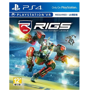 PS VR RIGS:機械化戰鬥聯盟(RIGS: Mechanized Combat League)(PCAS-00077)