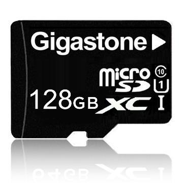 【U1】Gigastone microSD 128G 記憶卡(附轉卡)(GST microSD 128G U1)