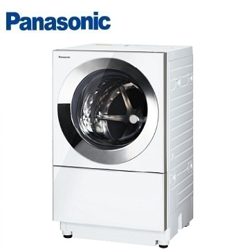 Panasonic 10.5公斤Cuble滚筒变频洗衣机(NA-D106X1WTW(晶灿白))