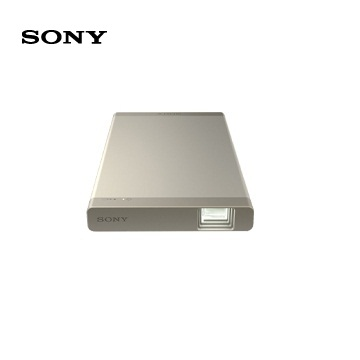 SONY MP-CL1A 行動微型投影機(金)