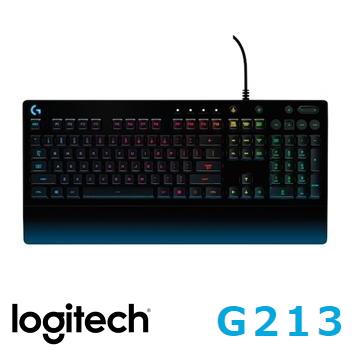 羅技G213 PRODIGY RGB遊戲鍵盤(920-008098)
