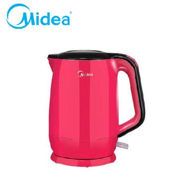 【拆封品】Midea Mini食代304不鏽鋼雙層防燙快煮壺