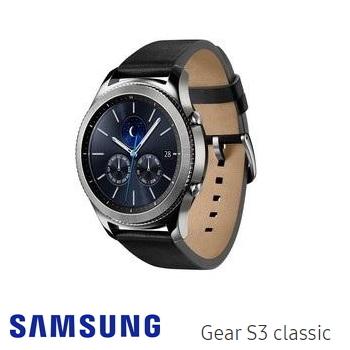 SAMSUNG GEAR S3 Classic智慧手錶(SM-R770NZSABRI)