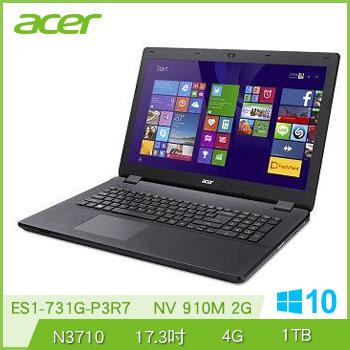 ACER ES1-731G N3710 NV910 獨顯筆電