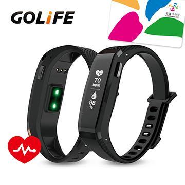【心律款】GOLiFE Care X HR 智慧悠遊手環-黑(Care X HR-黑)