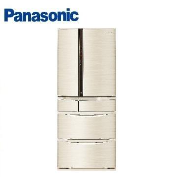 Panasonic 601公升旗舰ECONAVI六门变频冰箱(NR-F602VT-N1(香槟金))