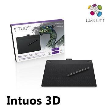 【M】Intuos 3D創意觸控繪圖板 - 經典黑