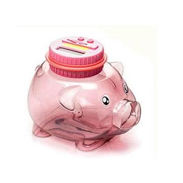 小豬智能撲滿存錢罐-粉