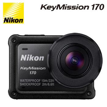 Nikon KeyMission 170 運動攝影機(KeyMission 170)