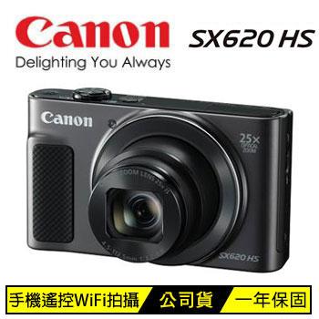 Canon SX620HS 數位相機-黑