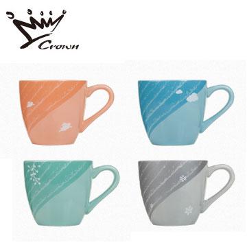 【福利品】CROWN日光四季馬克杯組