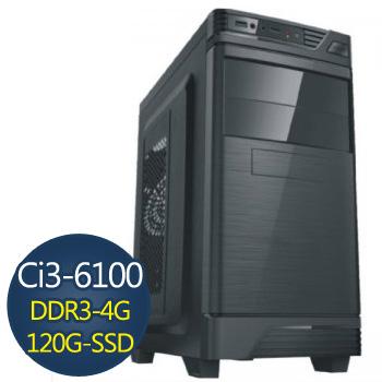 【爆殺鬥神】-華碩H110平台組裝電腦(AS-I3D34G-001)