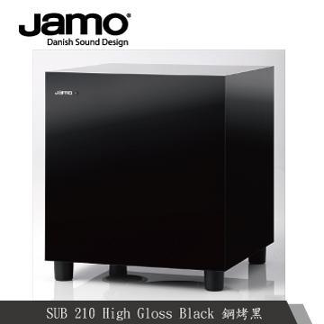 JAMO超重低音喇叭(SUB210 (鋼烤黑))