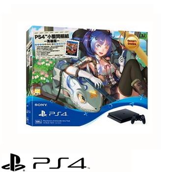 【500G】PS4 小藍同捆組 英雄版