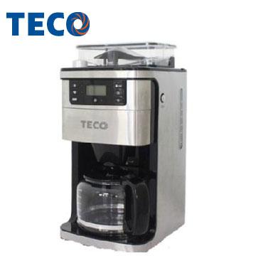 东元自动研磨美式咖啡机(YF1002CB)