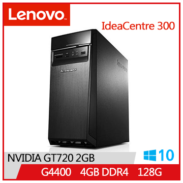 【福利品】LENOVO IC 300 G4400 IdeaCentre桌上型主機