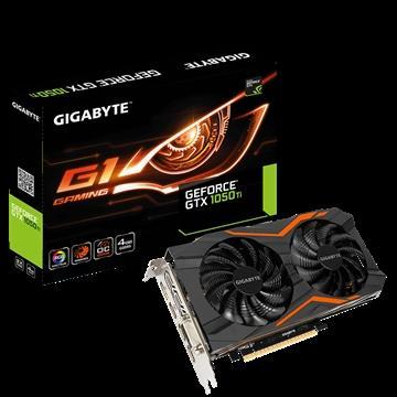 技嘉GTX 1050 Ti G1 Gaming 4G顯示卡(GTX1050 Ti G1 Gaming 4G)