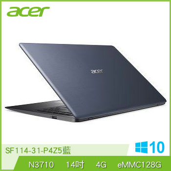 ACER SF114 N3710 128G 輕薄筆電
