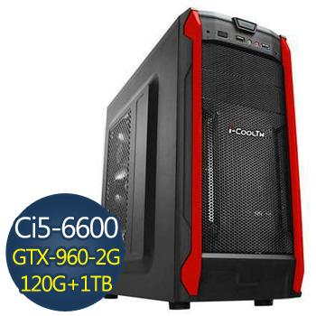 【無極鬥士】-技嘉H110平台組裝電腦(GA-I361N9604G-001)