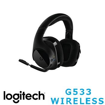羅技 Logitech G533 無線7.1聲道環繞遊戲耳機麥克風