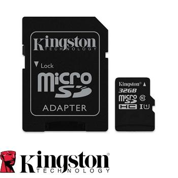 【代理商公司貨】 金士頓 Kingston Canvas Select 32G / 32GB microSDHC/SDXC 記憶卡 SDCS SDC10G2  – Class 10 UHS-I , 終身保固 (T-Flash/microSD)  郵寄免運費